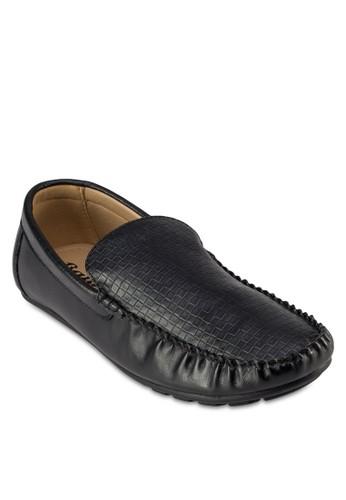 Moo 仿皮暗紋莫卡esprit台灣outlet辛鞋, 鞋, 鞋