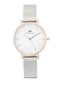 06eab504ba Victoria Walls Watches silver Designer Watch-Elegant Milanese Mesh Strap  9638FAC4F7D8A0GS 1