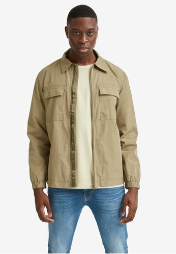 Selected Homme green Stephen Jacket FE4D6AA0880AA9GS_1