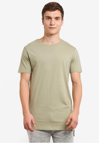 Factorie green Drop Tail Tee FA880AA0RYACMY_1