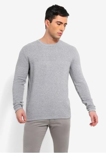 ESPRIT grey Long Sleeve Sweater B64FBAA7E3F7BCGS_1