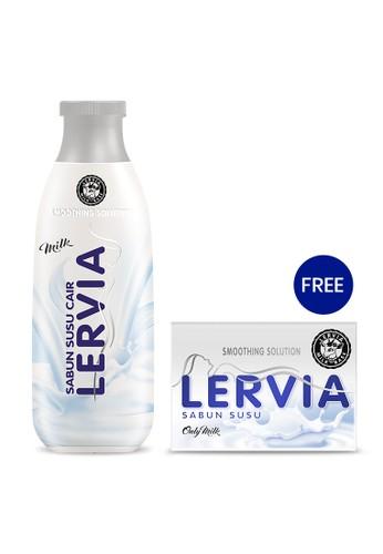 LERVIA n/a LERVIA Sabun Susu Cair Milk 250mL Free Sabun Susu 90g 1BEA8ESCD4699FGS_1