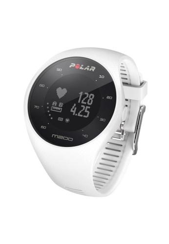 Polar white M200 GPS Running Watch (White) PO255AC2VBV0HK_1