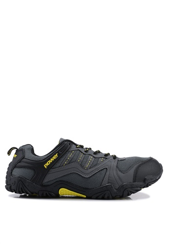 Power black and multi Outdoor Shoes 30D3DSH9510125GS_1