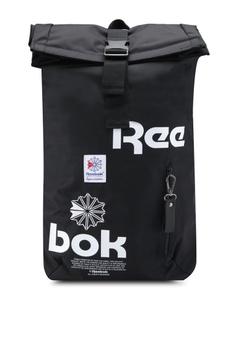eba342fd16a33 Reebok black Classics Mens Backpack RE691AC0SW0MMY 1