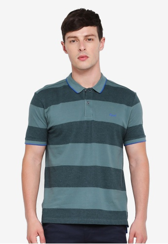 ESPRIT 綠色 短袖POLO衫 CD7BAAA9BA202CGS_1