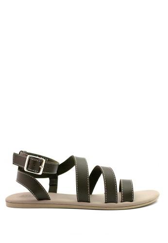 STEFANIA BALDO green Aneisha Sandals ST294SH88OVBID_1