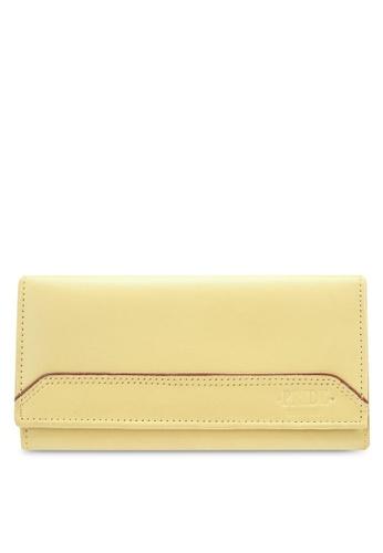 Pride yellow Genuine Cow Leather women's Purse PR075AC0RWPIMY_1