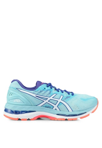 Asics blue Gel-Nimbus 20 Shoes AS989SH0SVSUMY_1