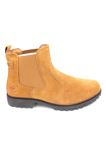 midzone yellow SCORPION Suede Leather Boots F1AF4SH5C98EB1GS_1