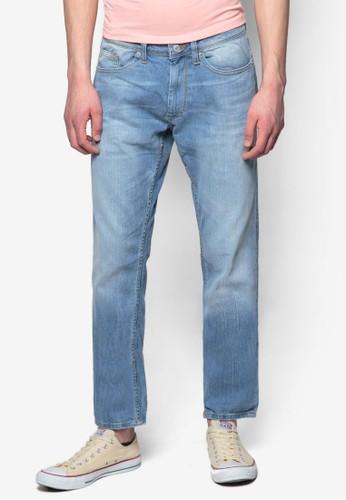 水洗彈性牛仔褲, 服飾,esprit outlet台北 服飾