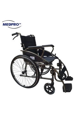 MEDPRO MEDPRO™ NEW STYLE Portable Wheelchair with Foldable Backrest Wheelchair SLY-117X 9B857ES1F8FE5FGS_1