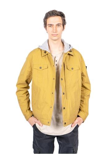 East Pole yellow Unisex 14 Pockets Denim Style Jacket 4F4D4AA4EA30F4GS_1