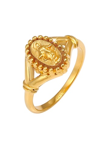 ELLI GERMANY gold Maria Madonna Symbol Gold Plated Ring 91963ACE6204B4GS_1