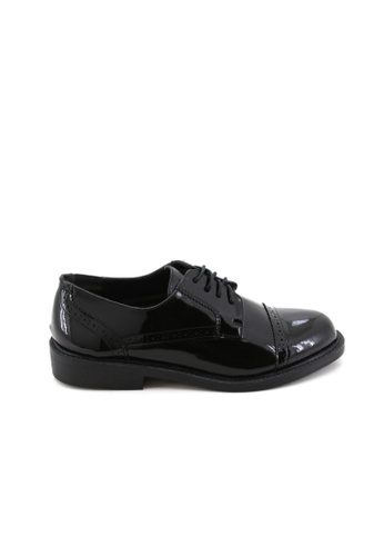 BATA Bata Men Black Dress Shoes - 8216668 914B9SHCDB2E72GS_1