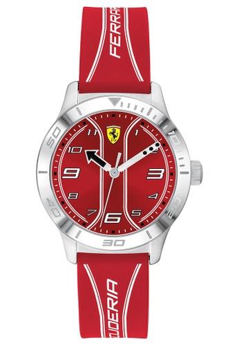 Scuderia Ferrari red Scuderia Ferrari Academy Red Kid's Watch (810023) C6CA5KC0266A16GS_1