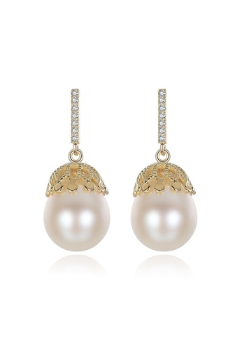 A.Excellence white Premium White Pearl Elegant Earring 5F33AACB3A181CGS_1