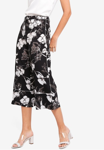 ZALORA multi Wide Leg Pants With Piping Details 13287AAAA2D8BEGS_1