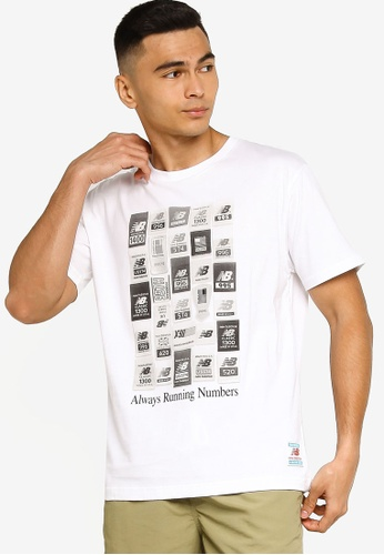 New Balance white NB Essentials Brand Label Pack Tee C2409AA746F746GS_1