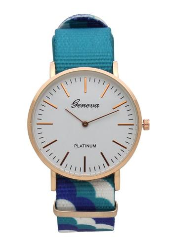 Timeless Manila blue Geneva Jinyi Bethany Clouds Analog Women's Wrist Watch TI209AC0IWMCPH_1