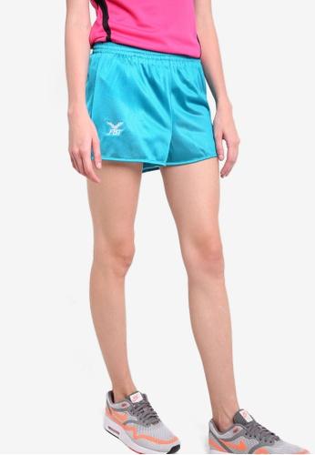 FBT blue Straight Cut Running Shorts FB961AA46WNXMY_1