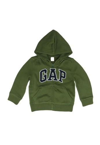 Gap green Logo Hoodie Sweatshirt 1448BKAA936BB3GS_1