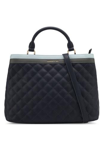 Christy Ng blue and navy Anna Duke Blue Handbag CH330AC0RXO7MY_1