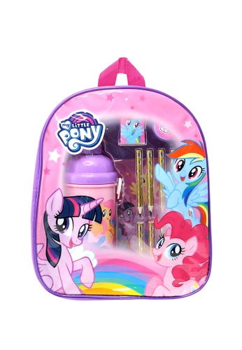 My Little Pony My Little Pony Rainbow Kids Backpack With Stationery Set C709BKCCAFFE54GS_1