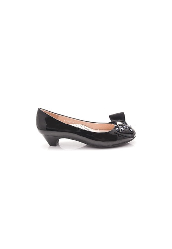 Elisa Litz black Lovett Low Heels (Black) 1041ESHD87C73EGS_1