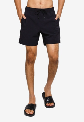 GAP black 6 Inch Swim Shorts DEE11AAC629BBFGS_1