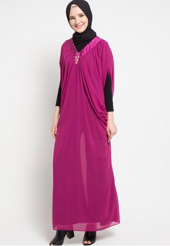 Zumara purple Kaftan Dress ZU038AA12JYDID_1