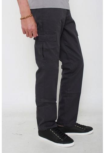 MSHRetail grey Cargo Pants (Grey) MS585AA89BCSSG_1