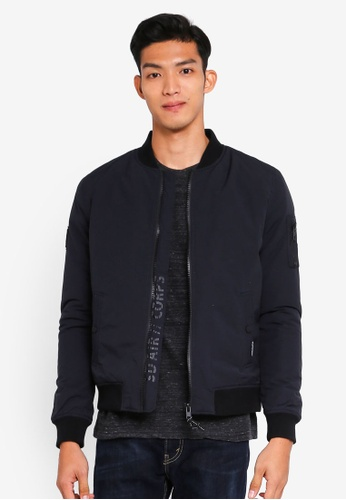 Superdry navy Air Corps Bomber Jacket 1212AAAE2EEEEDGS_1