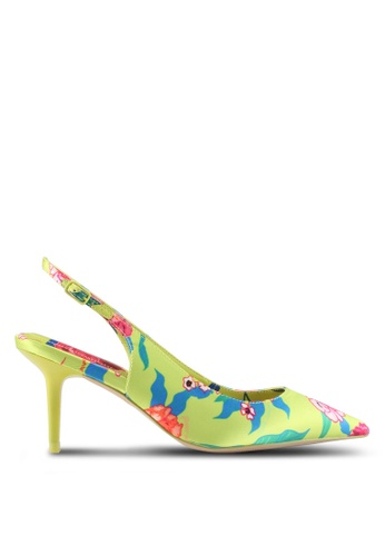 ALDO yellow Criewiel Heeled Shoes E16AASH11F46B3GS_1