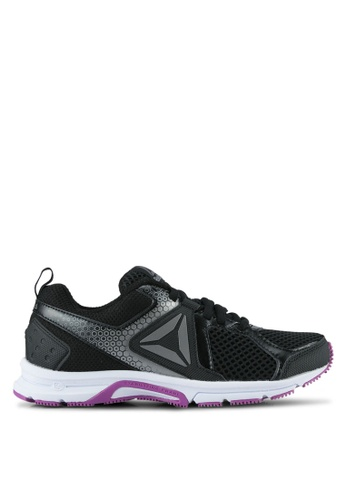 Reebok black and white Reebok Runner 2.0 MT Shoes RE691SH0SJSNMY_1