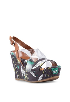 b96dbc5638e0 30% OFF Nose Floral Print Strappy Wedges S  49.90 NOW S  34.90 Available in  several sizes
