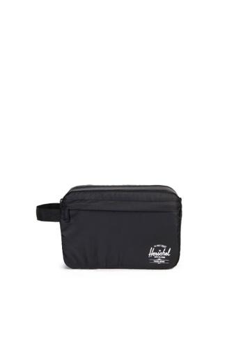 Herschel black Herschel Toiletry Bag Black D214AAC66FB6EFGS_1