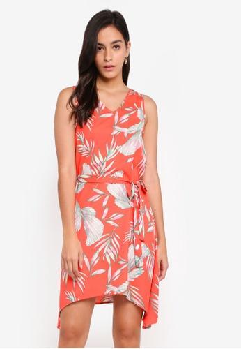 Vero Moda red Maharete Sleeveless Short Dress 3EAD0AA8626620GS_1