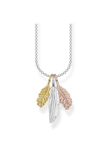 THOMAS SABO multi Necklace Feather 67FD9AC80281D2GS_1