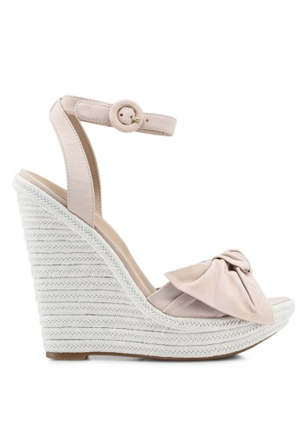 ALDO beige Besch Wedge Sandals 70619SHC09645EGS_1