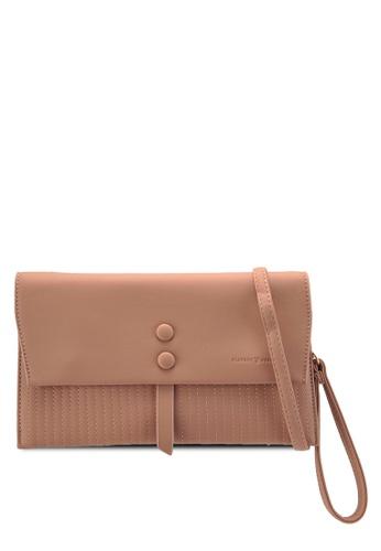 PLAYBOY BUNNY pink Clutch-Style Sling Bag 65432AC4A1C8DAGS_1