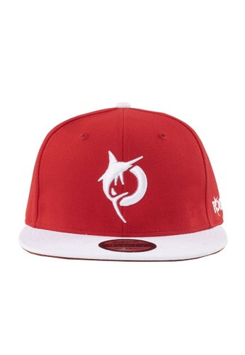 Todak white and red Todak Cap (Snapback) D960FACE9500B5GS_1