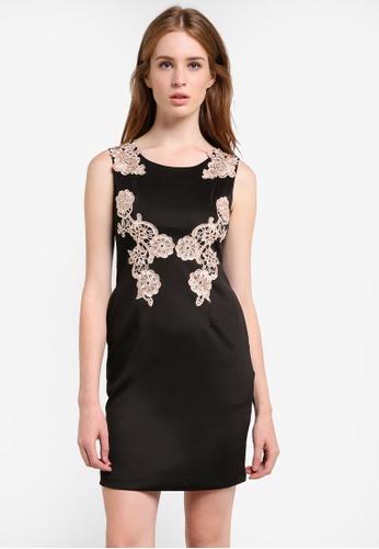Megane black Emilia Dress ME617AA0REKKMY_1