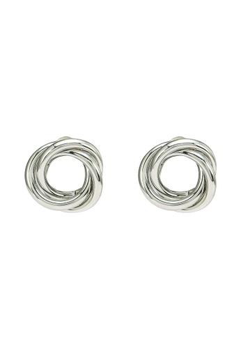 Red's Revenge silver Eternity Stud Earrings 896C2ACE32D802GS_1