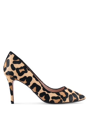 Dune London black and yellow and multi Mid Heel Court Shoes DU588SH0SZRMMY_1