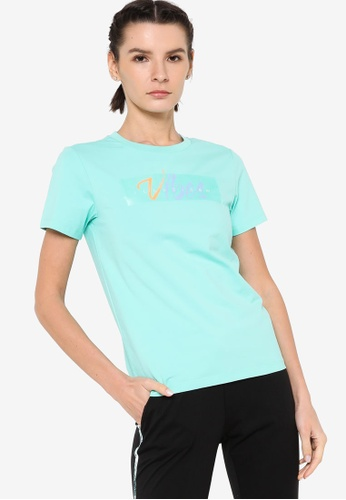 361° green Cross Training Short Sleeve T-shirt 84B86AA4BE91E3GS_1