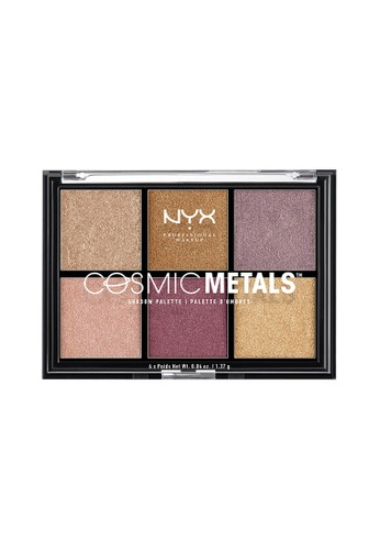 NYX Professional Makeup multi NYX Professional Makeup Cosmic Metals Shadow Palette F0090BED55B3E0GS_1