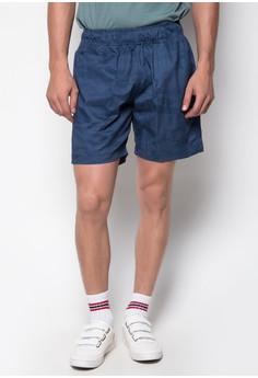 Camouflage Blue Shorts