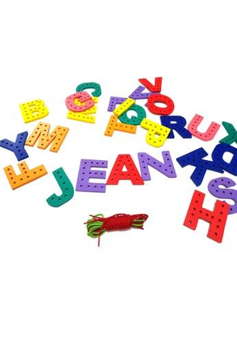 Jean Edu Toys multi Papan Jahit Huruf E875ETHF73CC30GS_1