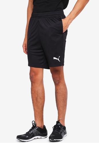 "Puma black Sportstyle Core Active Interlock Shorts 8"" 35DE2AA3EFF3B8GS_1"